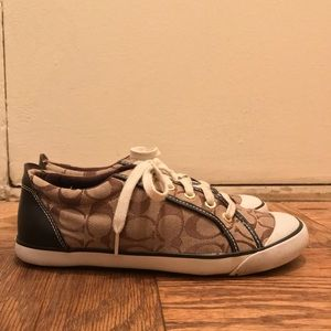 Authentic Coach Brown C Sneakers